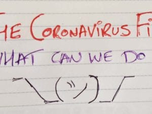 fighting coronavirus