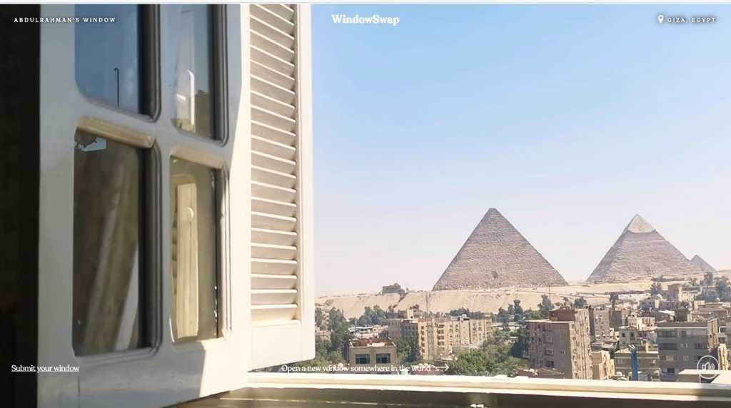Window Swap - Egypt