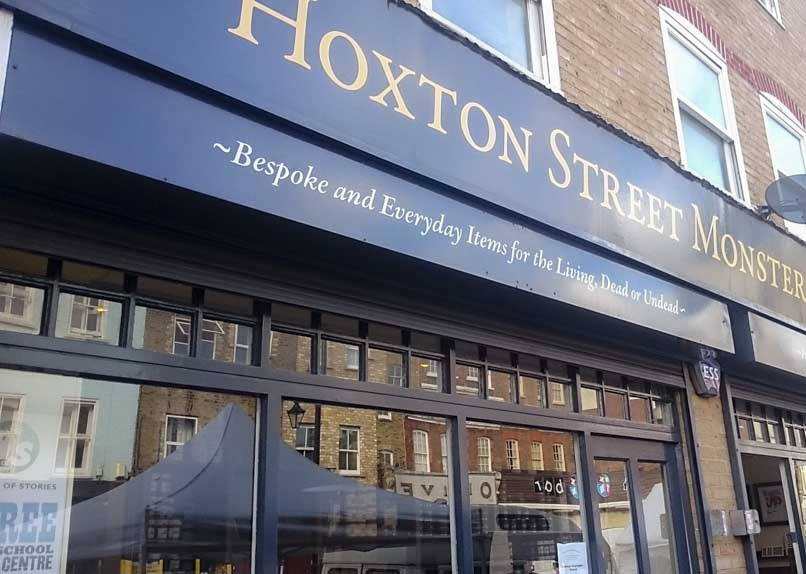 Halloween Things to do in London: Hoxton Monster Shop
