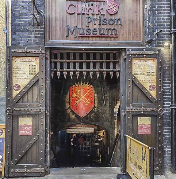 Halloween things to do in London - The Clink Museum